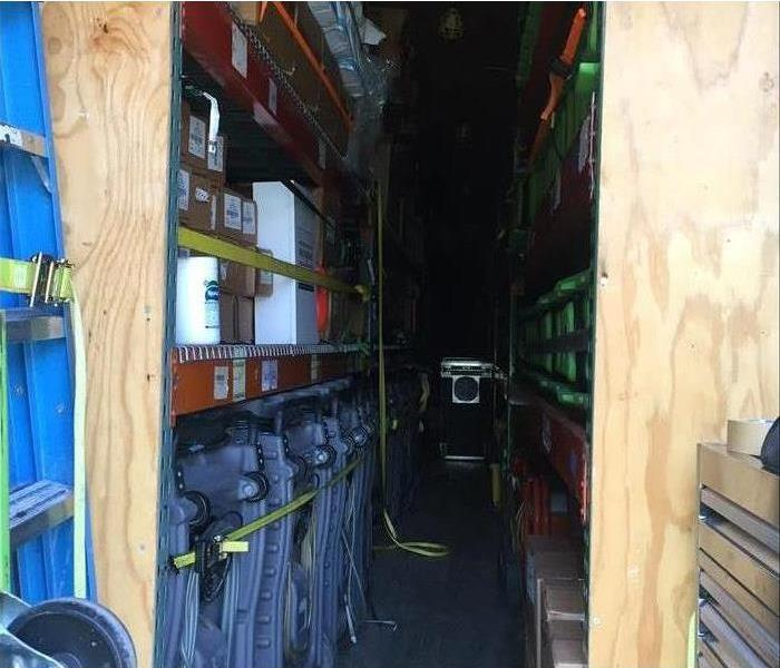 Inside look at the servpro equipment